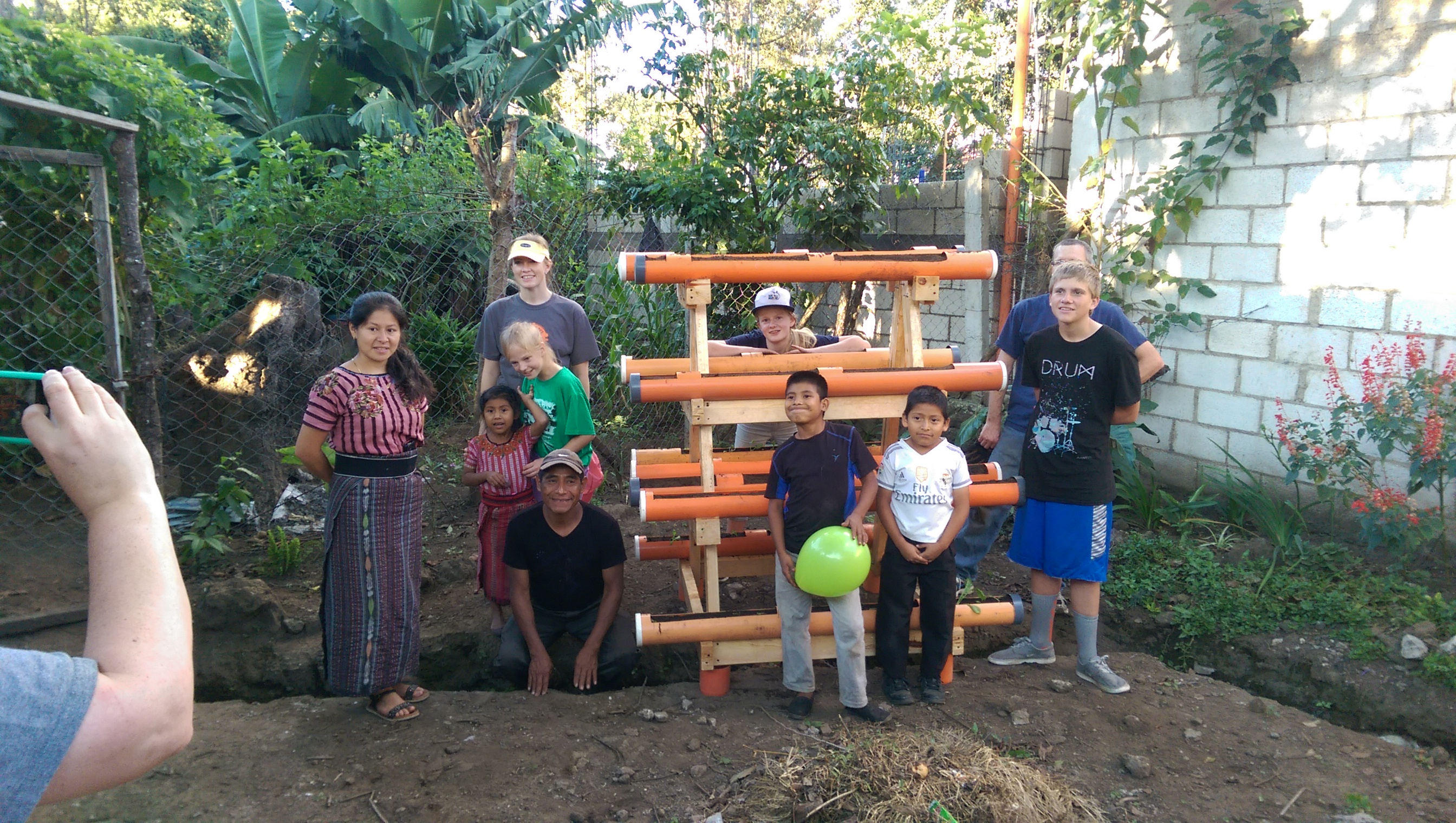 ASI Gives Back gardening stands