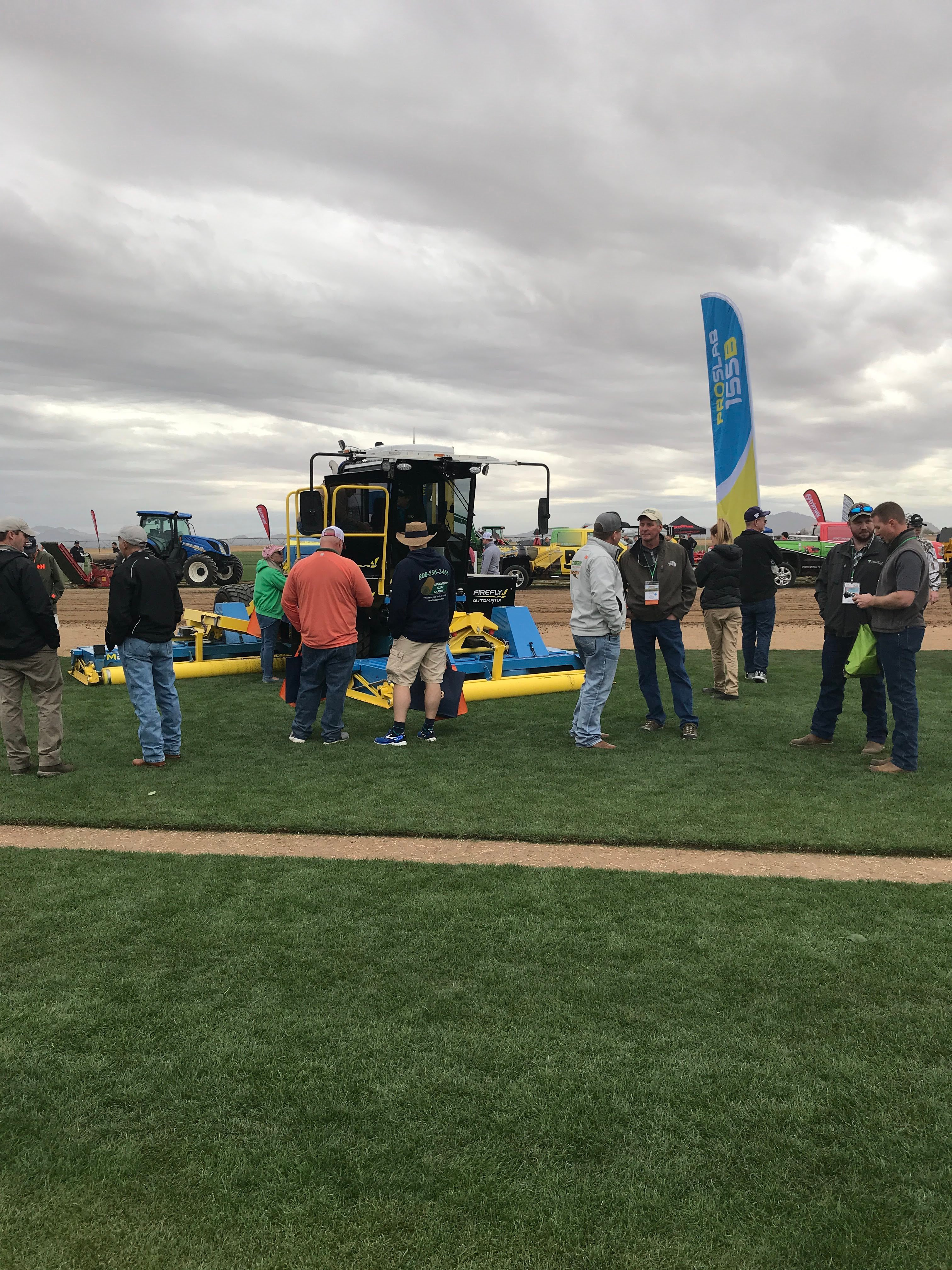 FireFly mower at TPI 2018