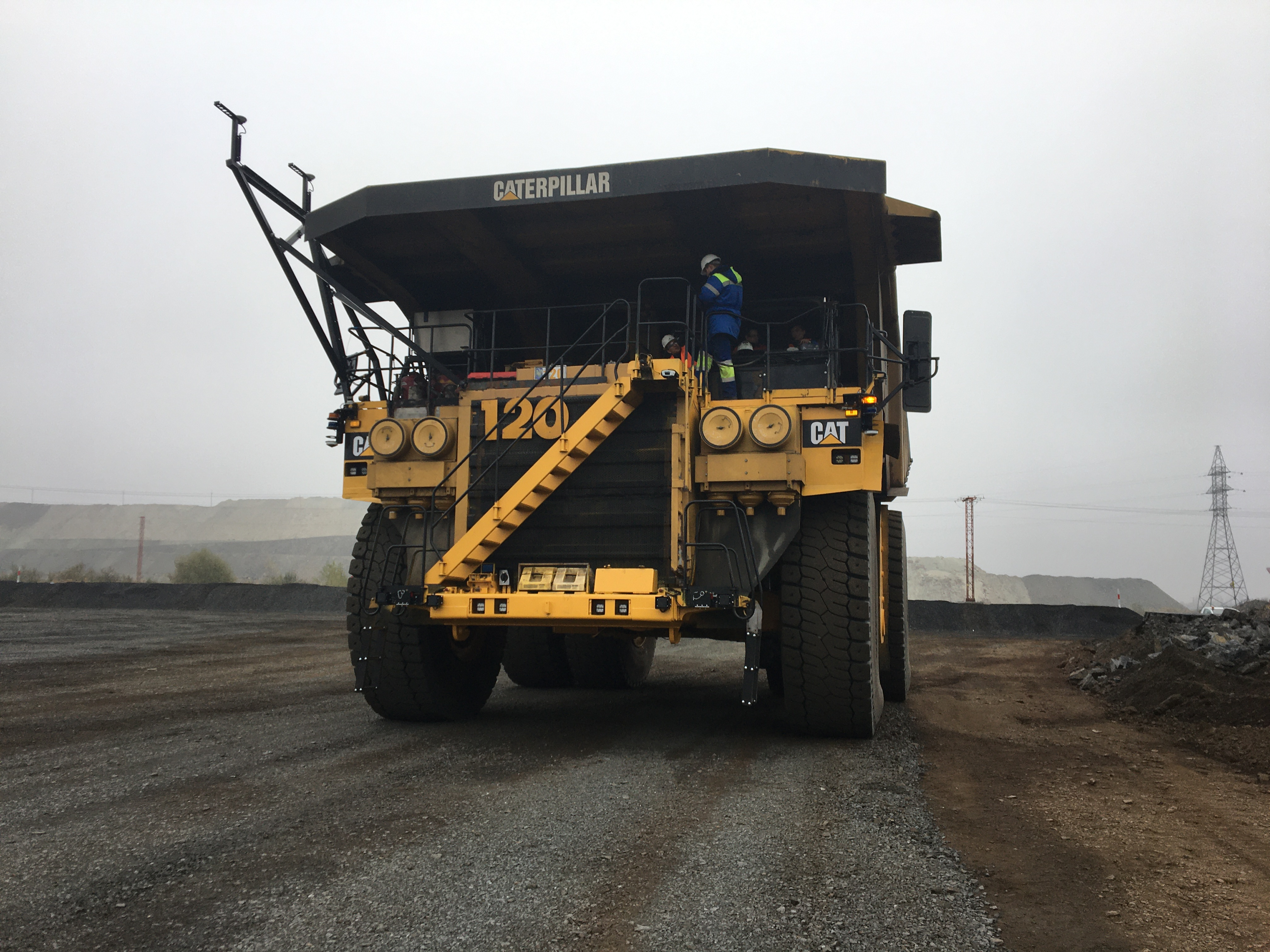 Ferrexpo haul truck converted to full autonomy by ASI Mining