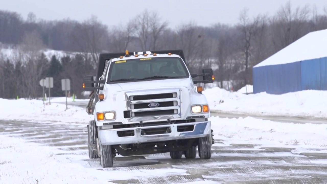 Large autonomous truck