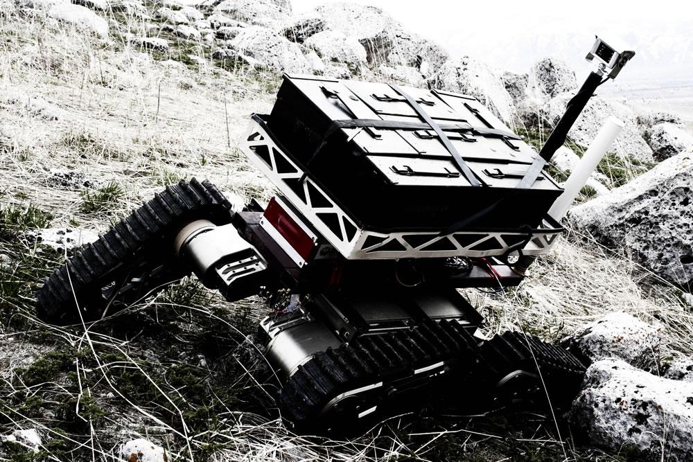 Asi chaos high mobility robot for Parker bayside frameless torque motors