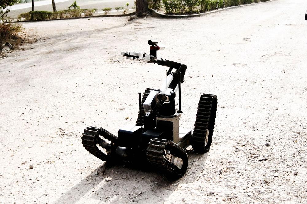 Chaos high mobility robot asi for Parker bayside frameless torque motors
